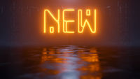 neon light sign new