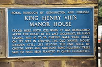 King Henry V111's house London
