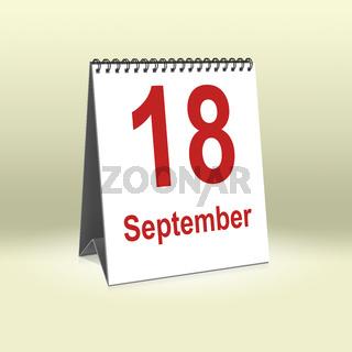 September 18th   18.September