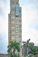 Manila, Philippines - Feb 02, 2020: Discovery Primea Manila hotel.