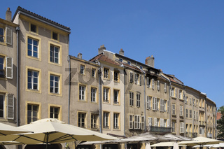 Metz - Häuser am Place Saint-Louis, Frankreich