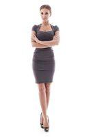 Full body woman portrait