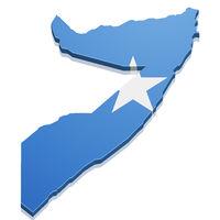 Map Somalia