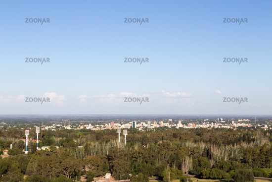 Skyline view of Mendoza, Argentina