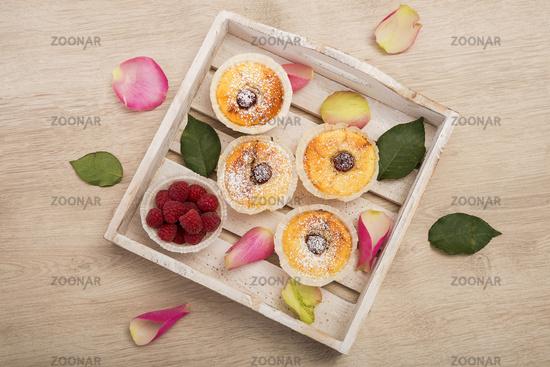 Raspberry Cheesecake Muffin
