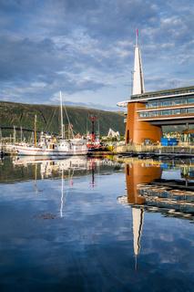 Skyline of Tromso Norway