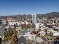 Aerial Views Of Asheville, North Carolina