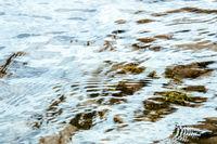 bright water surface at Lake Tekapo New Zealand