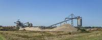 Sand mining factory Netherlands