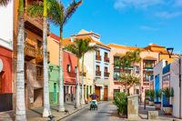 Street in the old town of Puerto de la Cruz