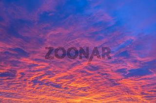 Amazing Colorful Sunset Background