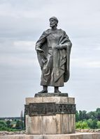 Monument to Yaroslav the Wise in Bila Tserkva, Ukraine