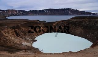Vulkangebiet Askja, Island