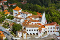 Old town and National Palace - Sintra Portugal