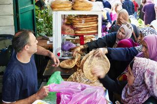 Jerusalem Israel. Baker in the old city