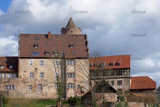 Burgenstadt Schlitz in the central Hessian Vogelsbergkreis