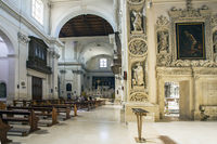 In the church of Chiesa di Sant'Irene in Lecce Puglia Italy