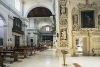 In the church of Chiesa di Sant'Irene in Lecce Puglia Italy