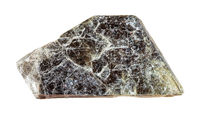 raw laminas of muscovite (common mica) isolated