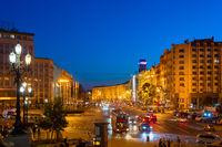 Khreschatyk street European square Kyiv