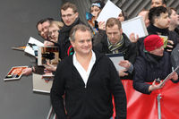 Hugh Bonneville with fans at Berlinale 2014