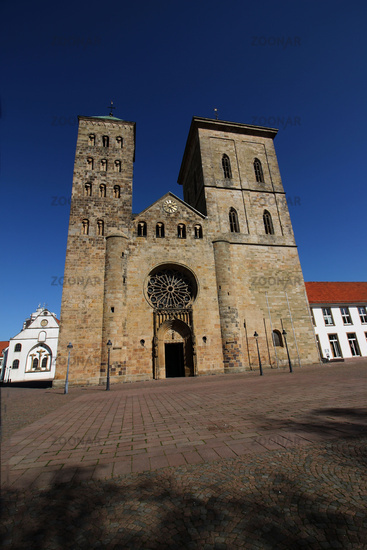 The cathedral in Osnabrück