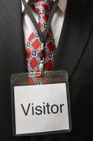 Visitor tag