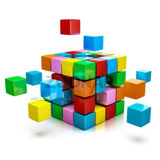 Business teamwork internet communication concept