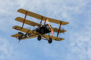 Sopwith Triplane airborne
