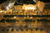 TUNISIA TUNIS CITY HABIB BOURGUIBA ROAD