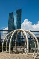 Zentralbank in Frankfurt