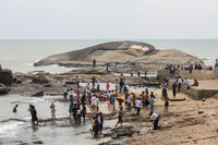 Beach in Kanyakumari, India