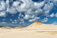 sand dunes in Leba, Poland