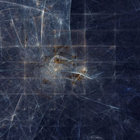 Fractal abstract background square image