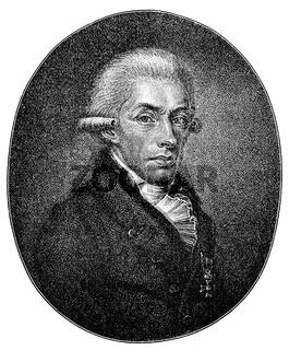 Rhijnvis Feith, 1753 - 1824, a Dutch poet