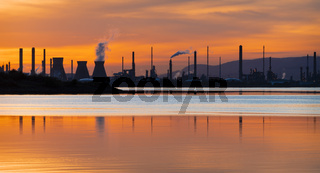 Grangemouth, Firth of Forth, Scotland