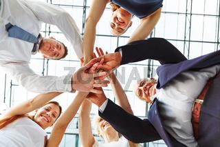 Zusammenarbeit im Business Team