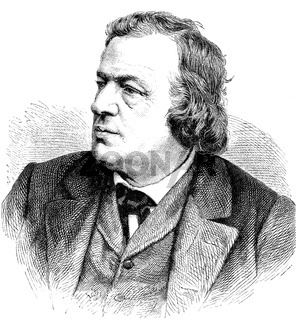 August Wilhelm Julius Rietz, 1812 - 1877, a German conductor
