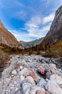 Berglandschaft am Watzmannmassiv