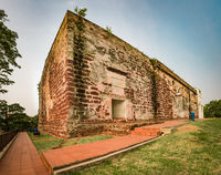 Saint Paul's Church in Malacca City, Malaysia