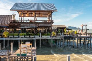 Restaurant am Meer auf der Insel Ko Lanta