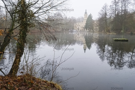 Dammsmuehle Castle, Schoenwalde, Brandenburg, Germany