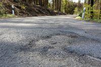 Road damage, road construction