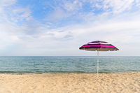 Beach umbrella for shadow
