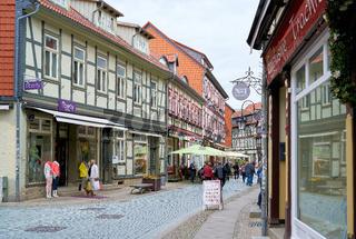 historische Altstadt von Wernigerode im Harz