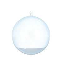 Christmas glass ball blank