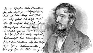Nikolaus Lenau 1802 - 1850, Austrian writer