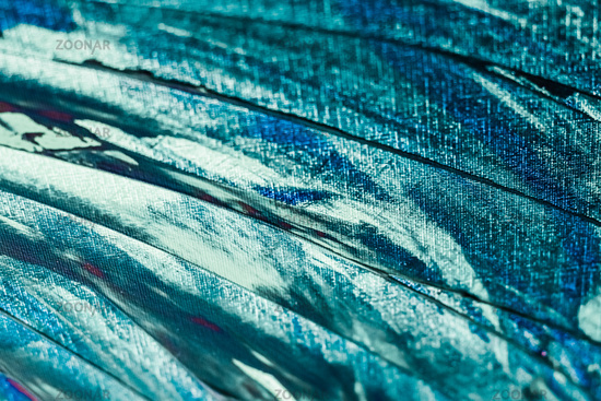Turquoise abstract background, painting and art
