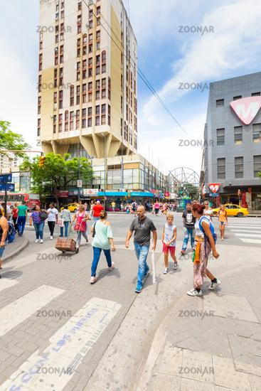 Argentina Cordoba people in Colon avenue