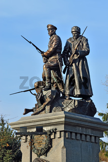 Memorial to Heroes of First world war. Kaliningrad (formerly Koenigsberg), Russia